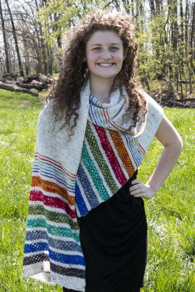 hi ho shawl draped