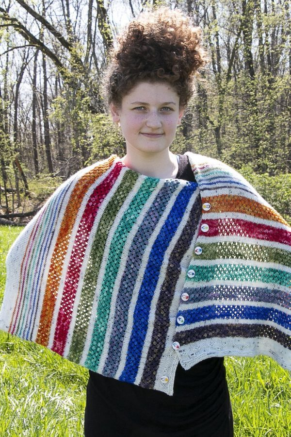 hi ho shawl buttoned