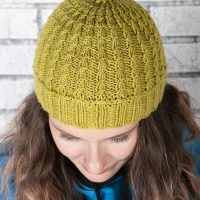 easiest cabled hat ever