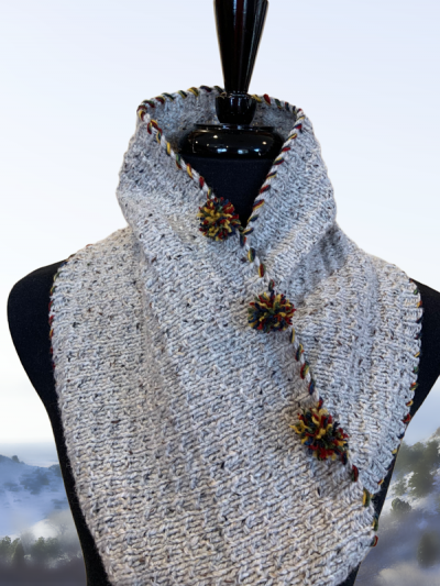 up north cabin cowl open neck