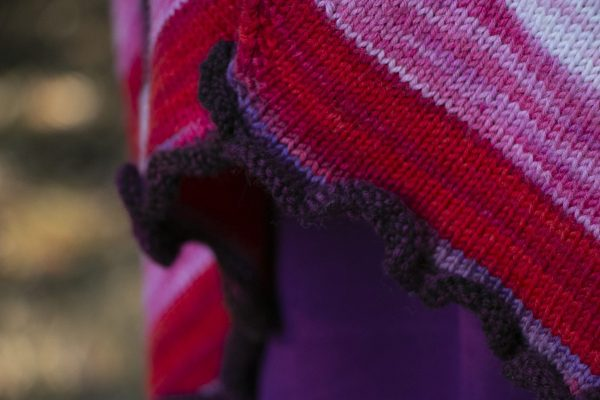 a very merry mix up shawl edging