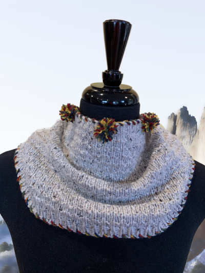 up north cabin cowl short wrap
