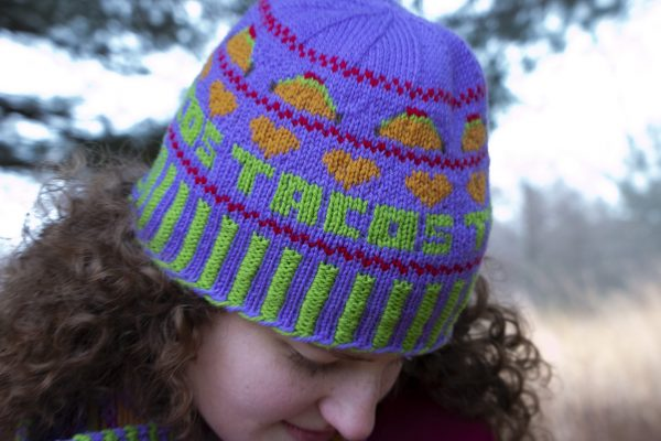 Taco Tuesday Hat Colorwork