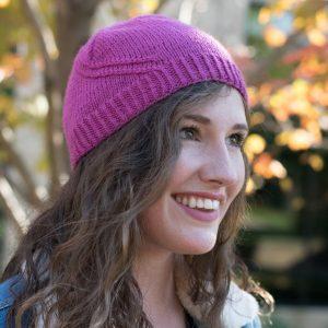 friendship road hat in purple
