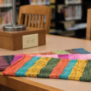 Knitting at the Library Collection