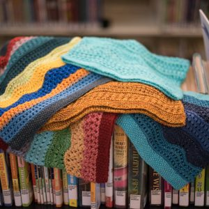 knitting at the library part deux