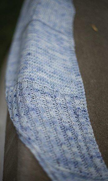 fiber friends shawl retaining wall